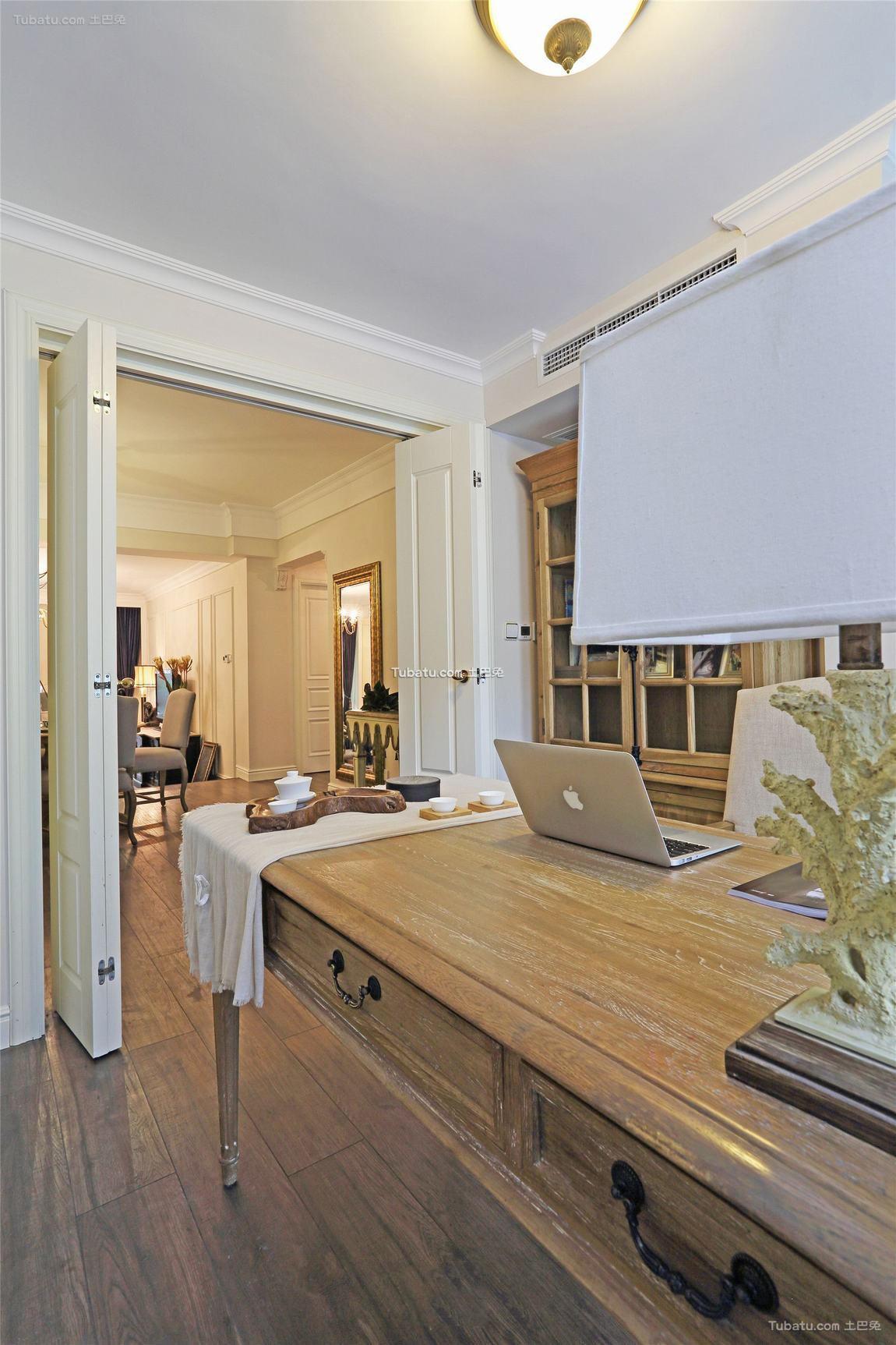 美式设计装修书桌欣赏