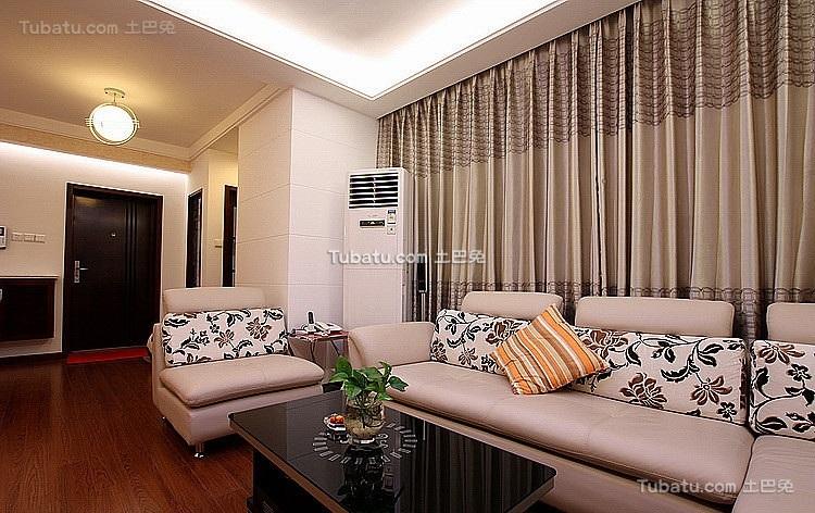 现代时尚装潢设计客厅