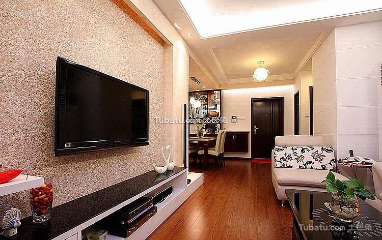 现代时尚装潢设计二居室