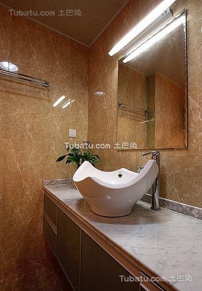 现代时尚装潢设计卫生间