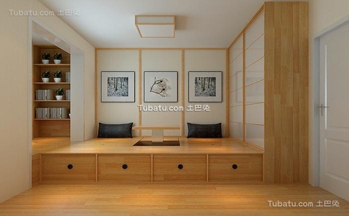 日式简约小户型室内设计图