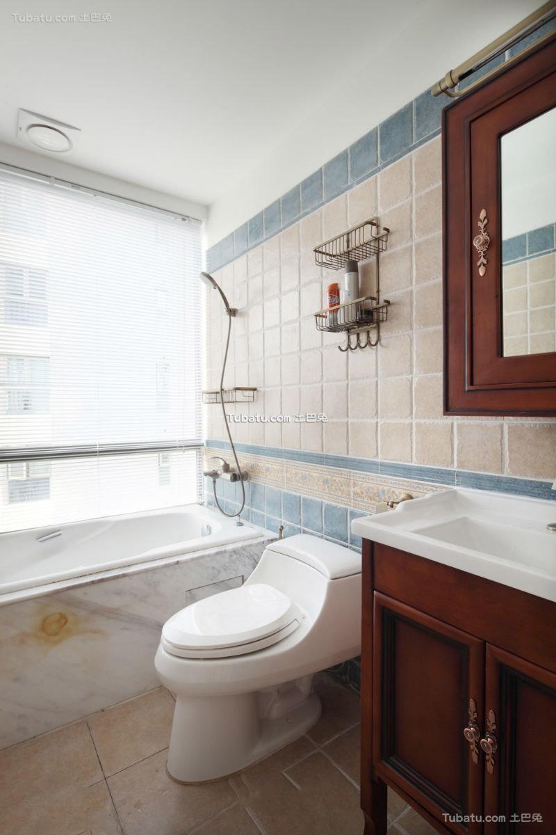 美式设计小卫生间大全
