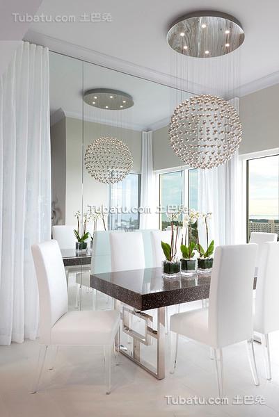 精美现代风格装修餐厅设计
