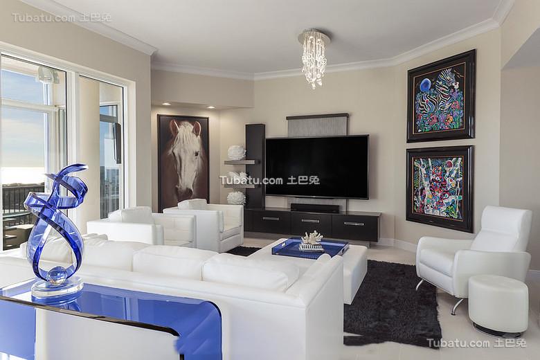 精美现代装修一居室设计