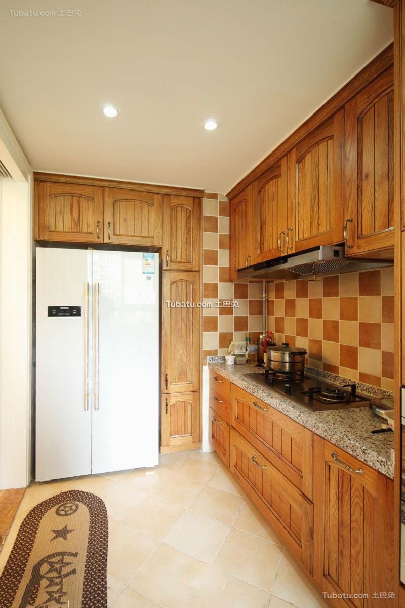 美式家居厨房橱柜大全