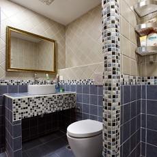 地中海风格小户型卫生间效果图欣赏