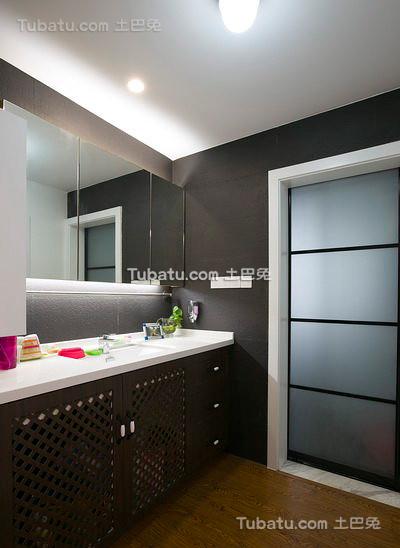 现代室内卫生间设计装修图片