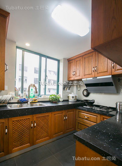 欧式风格厨房设计装修图片