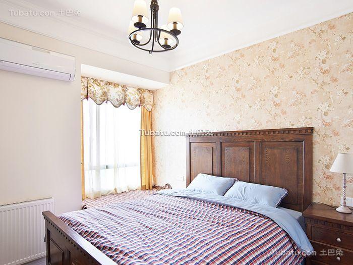 田园风格复古卧室室内装修图片