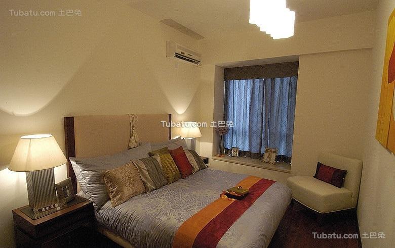 现代中式装修风格卧室