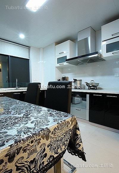 优雅现代风格厨房设计