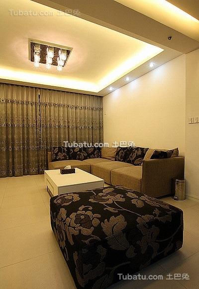 优雅现代风格客厅设计