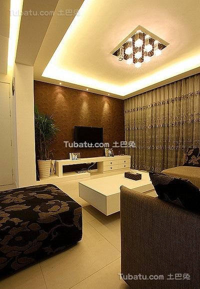 优雅现代风格二居室设计