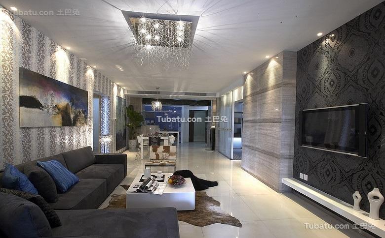 现代精美装修三居室设计