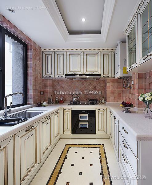 豪华欧式厨房设计装修