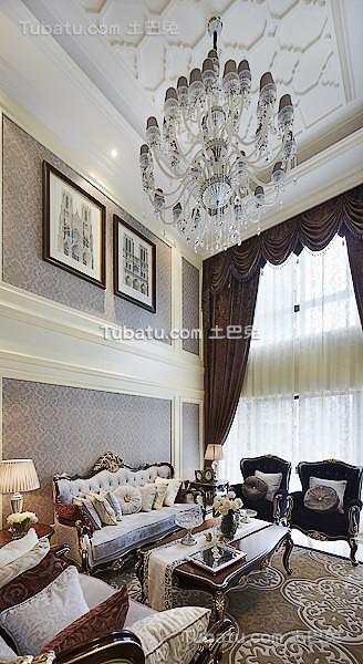2015豪华欧式家装客厅装饰大全