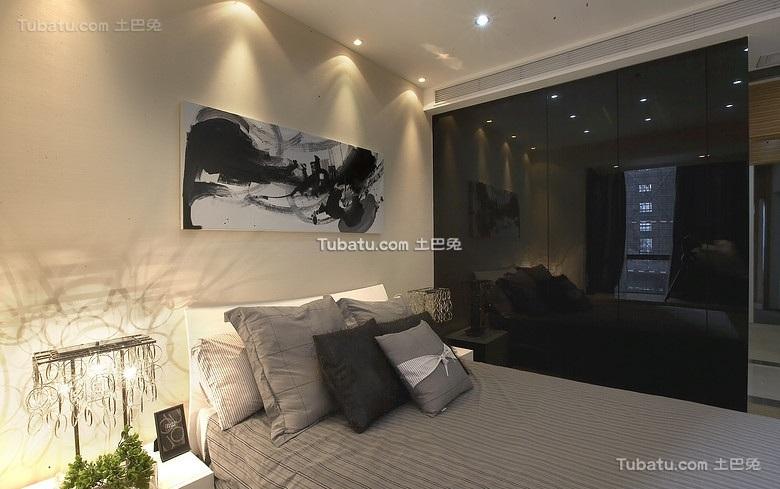 现代精美装修卧室设计效果图