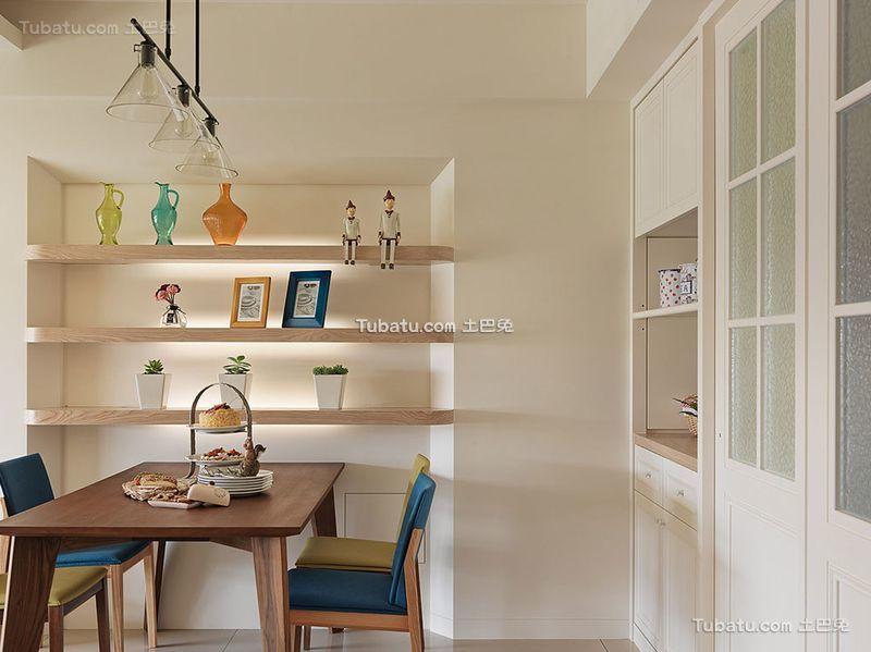 北欧风格小户型室内餐厅效果图
