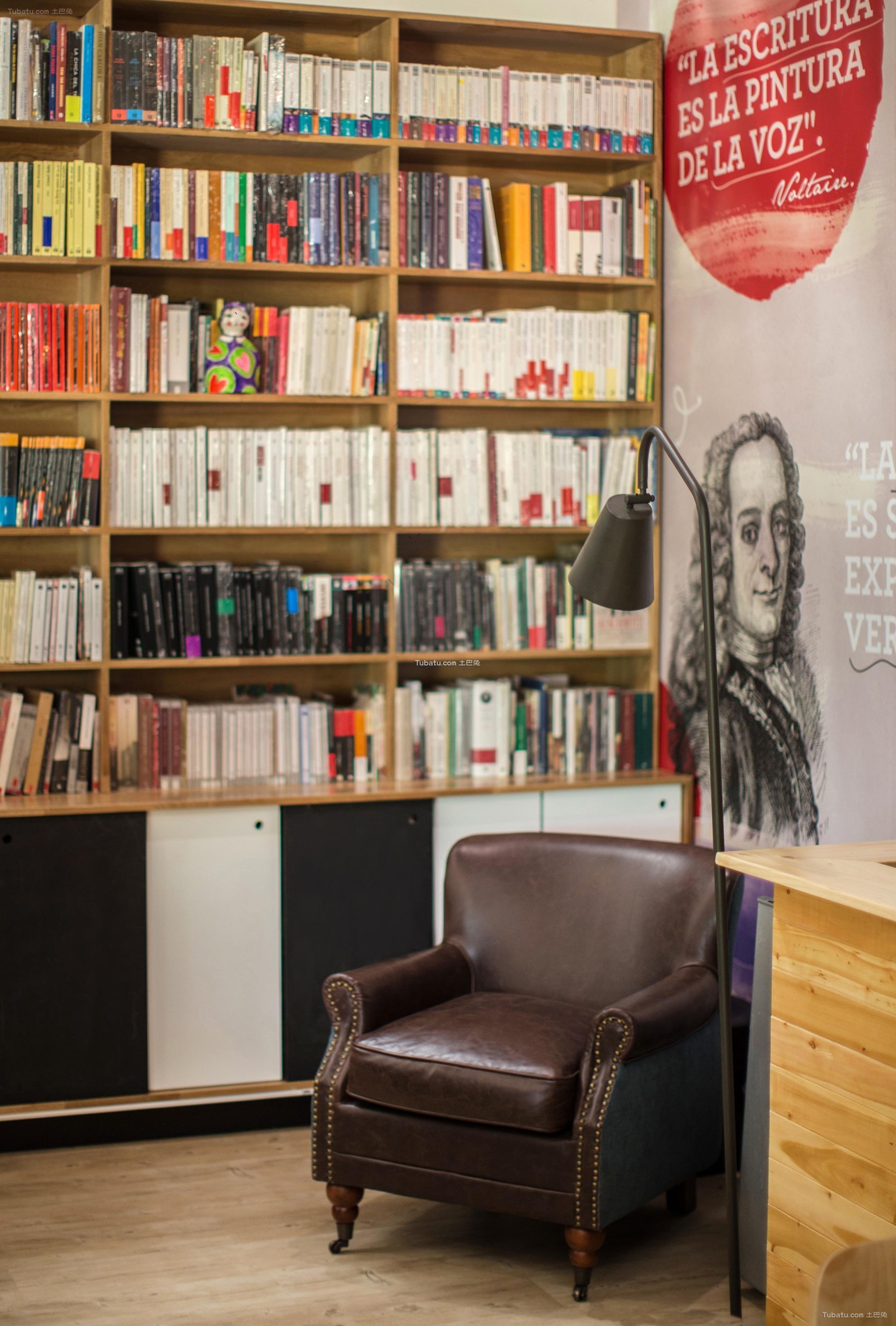 个人图书馆设计装饰图片欣赏