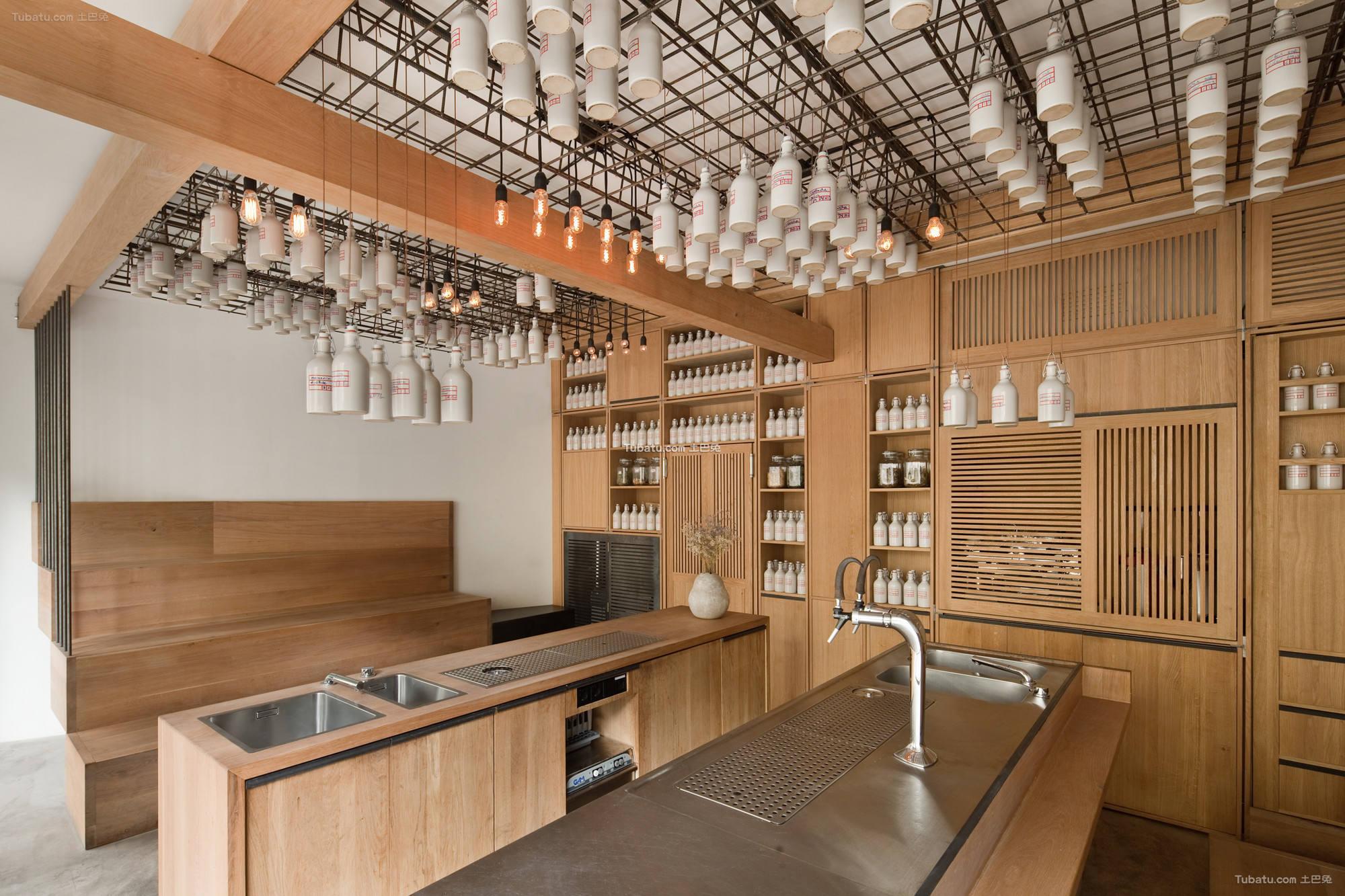 现代酒吧室内设计装饰效果图