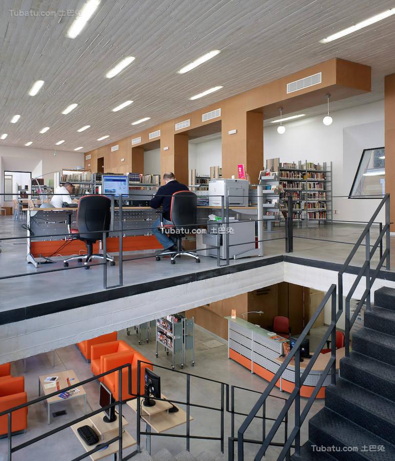 现代图书馆室内设计装饰图片欣赏