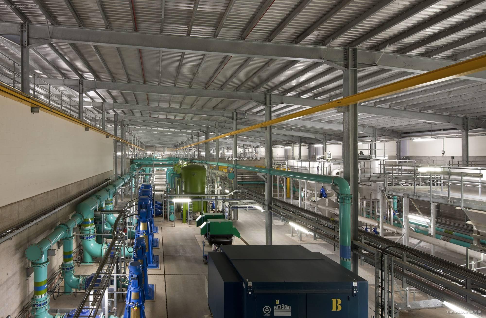 工业厂房设计室内装饰效果图欣赏