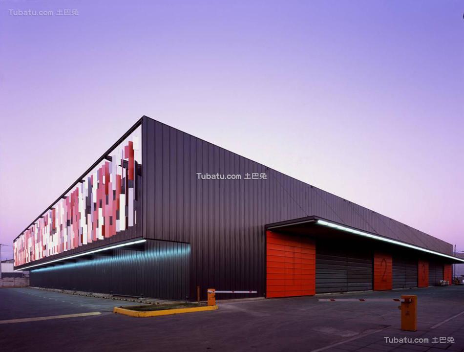 现代钢构厂房设计图片