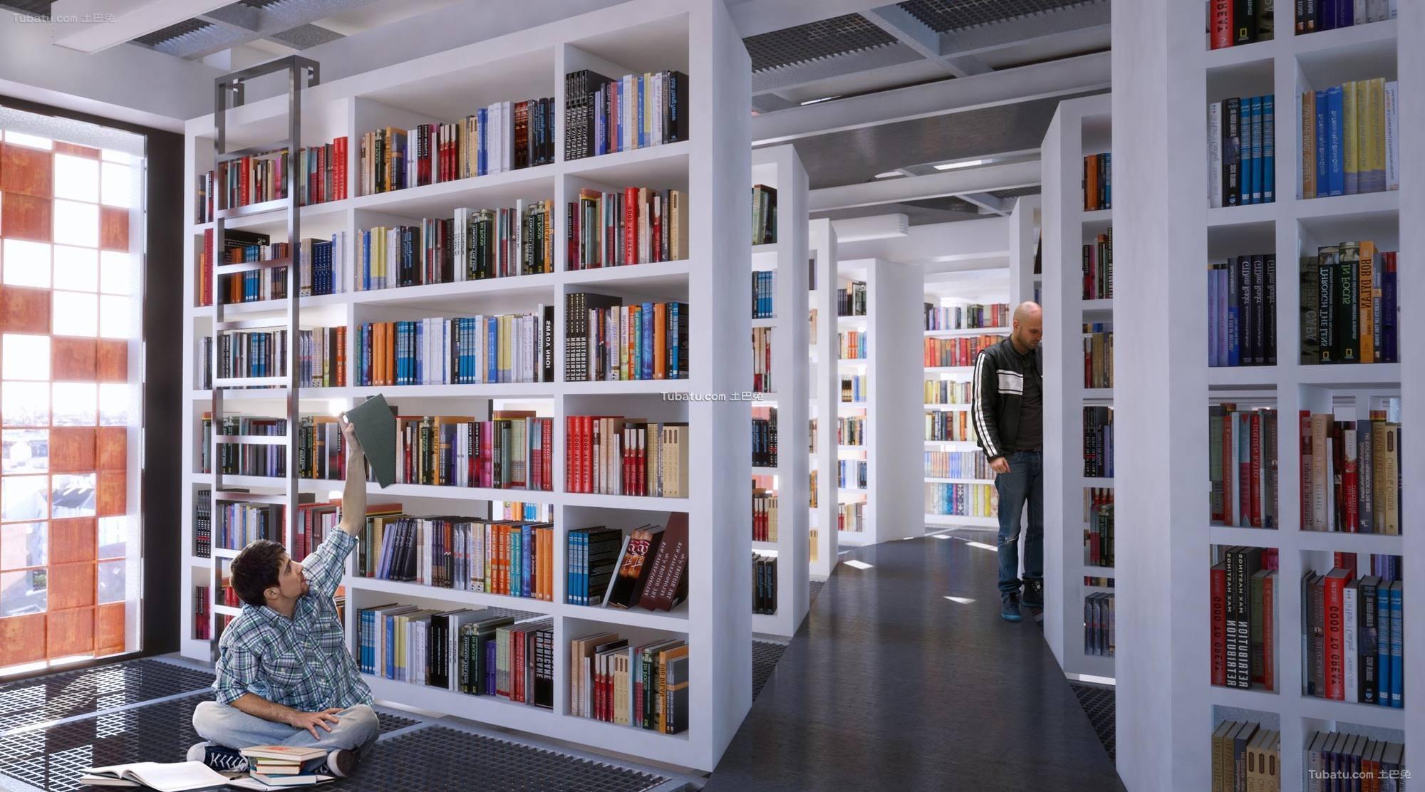 图书馆设计装饰图片欣赏