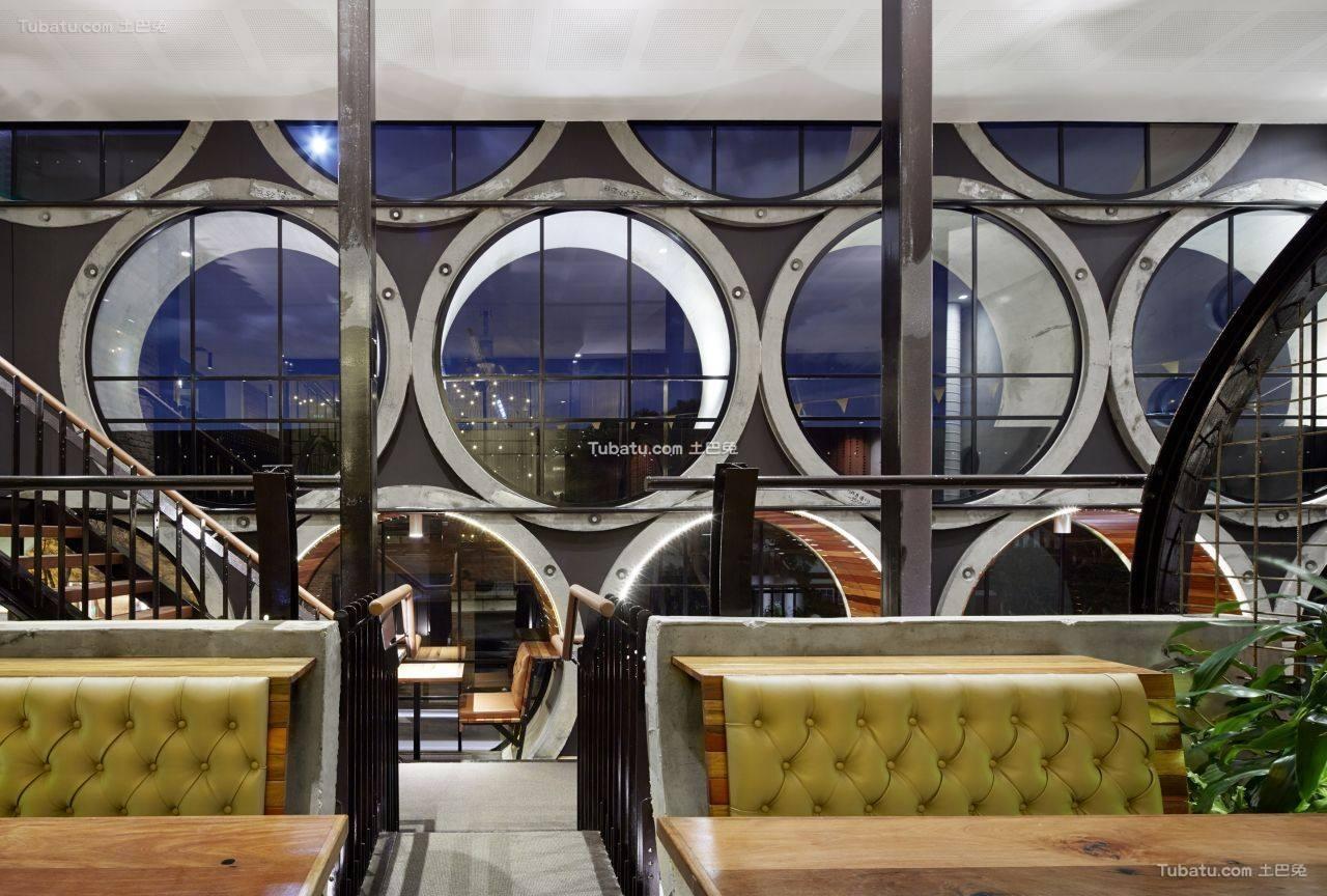 欧式现代酒吧室内设计装饰效果图