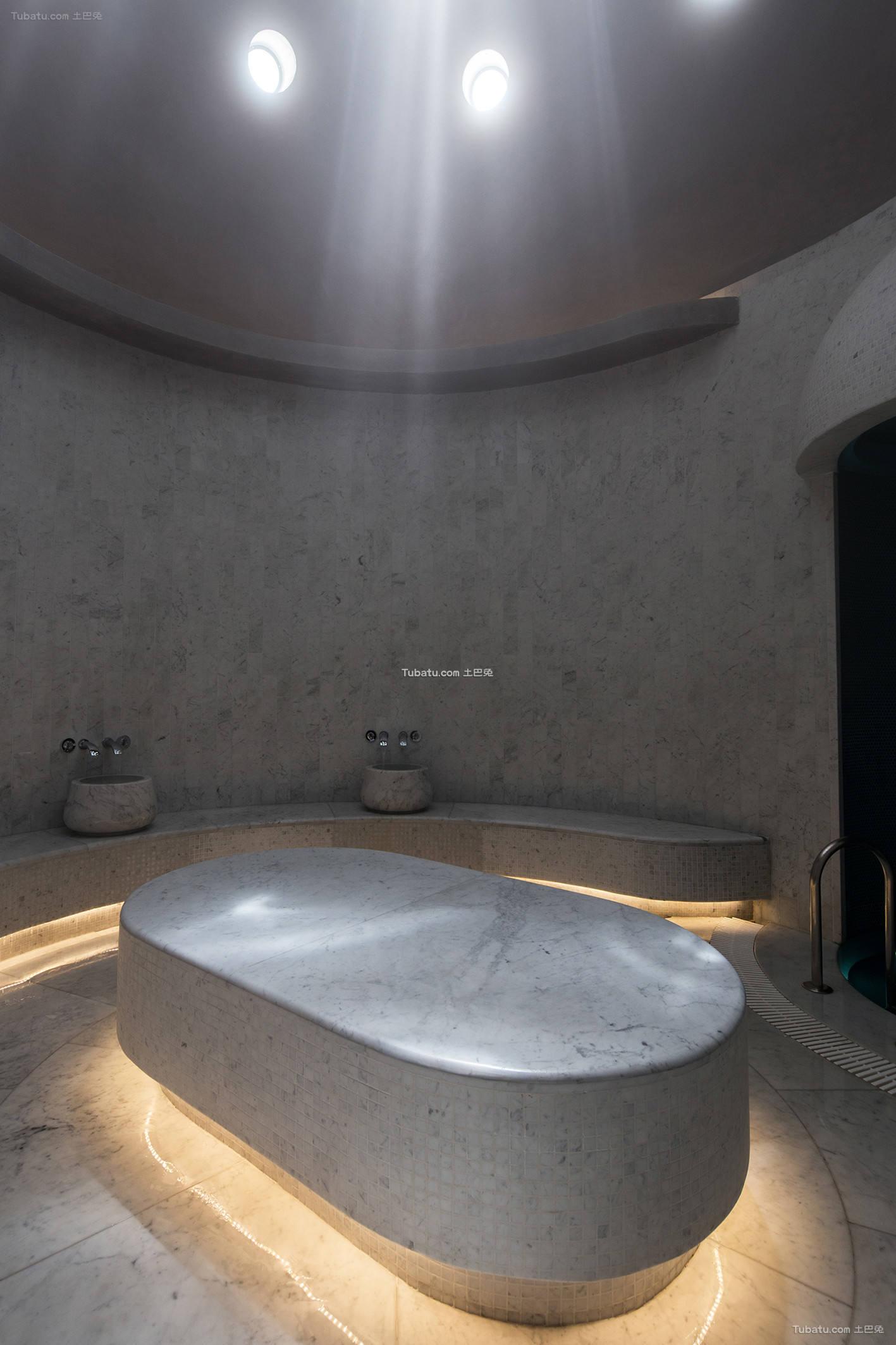 美容院浴室设计装修室内效果图片
