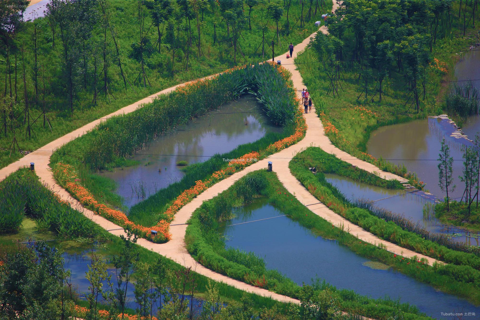 现代公园水景设计图片欣赏
