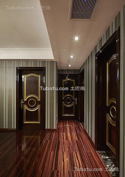 新古典欧式玄关设计