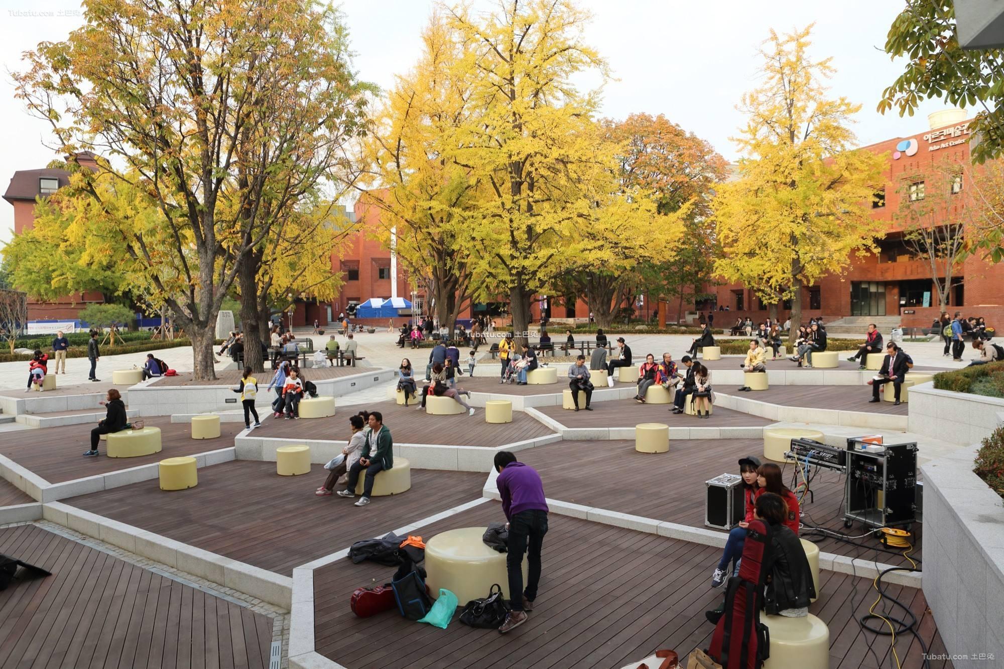 现代公园广场设计图片欣赏