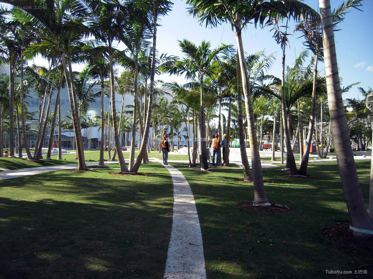 现代公园小道设计图片欣赏