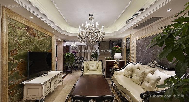 新古典欧式客厅设计大全