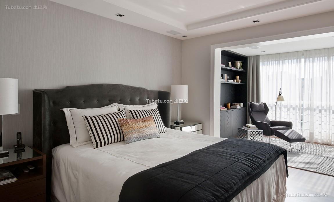 家装现代卧室欣赏