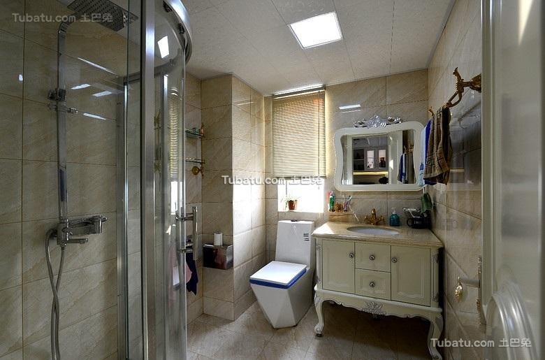 现代家装卫生间装修图片大全