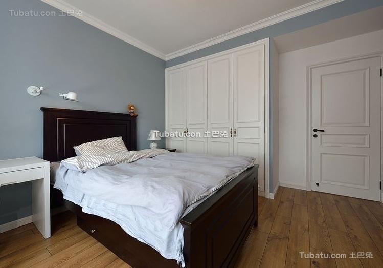 复古美式风格卧室装饰效果图欣赏
