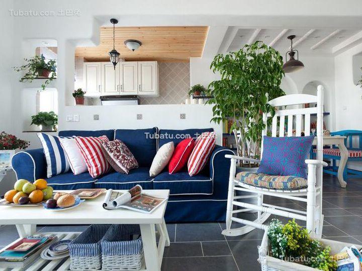 地中海风格别墅设计装修图片