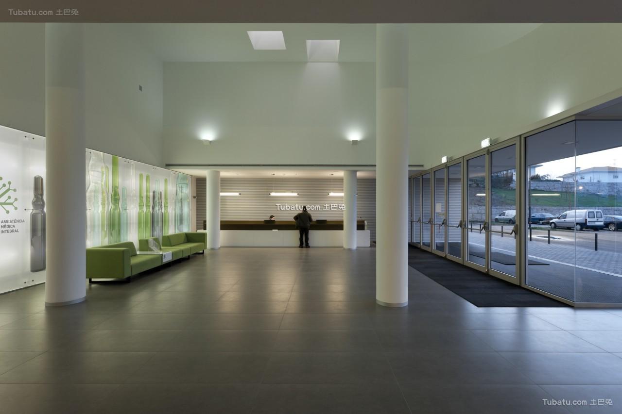 医院设计大厅室内效果图