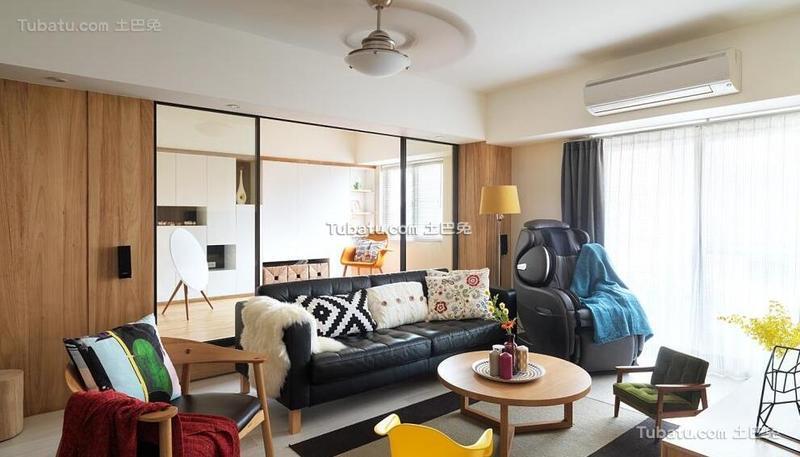 北欧风格公寓设计室内效果图