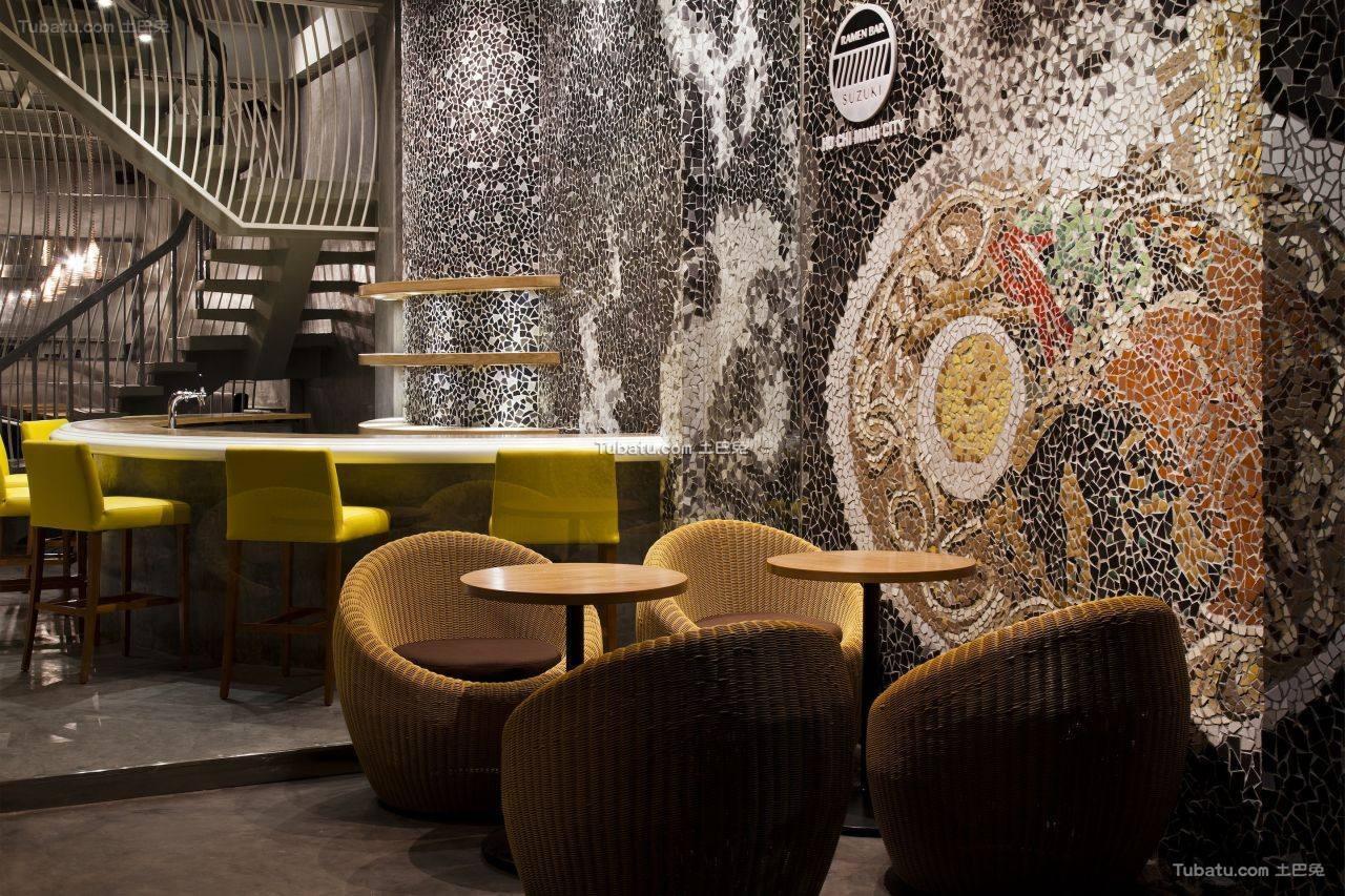 休闲酒吧装饰设计布置图片
