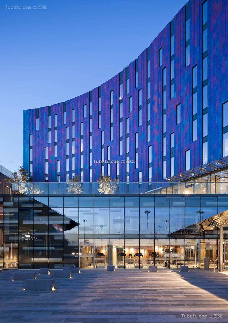 现代酒店设计入口设计装修图片