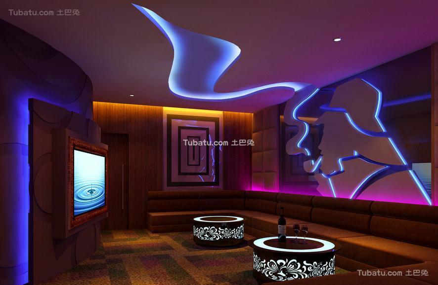 ktv设计现代室内装修效果图