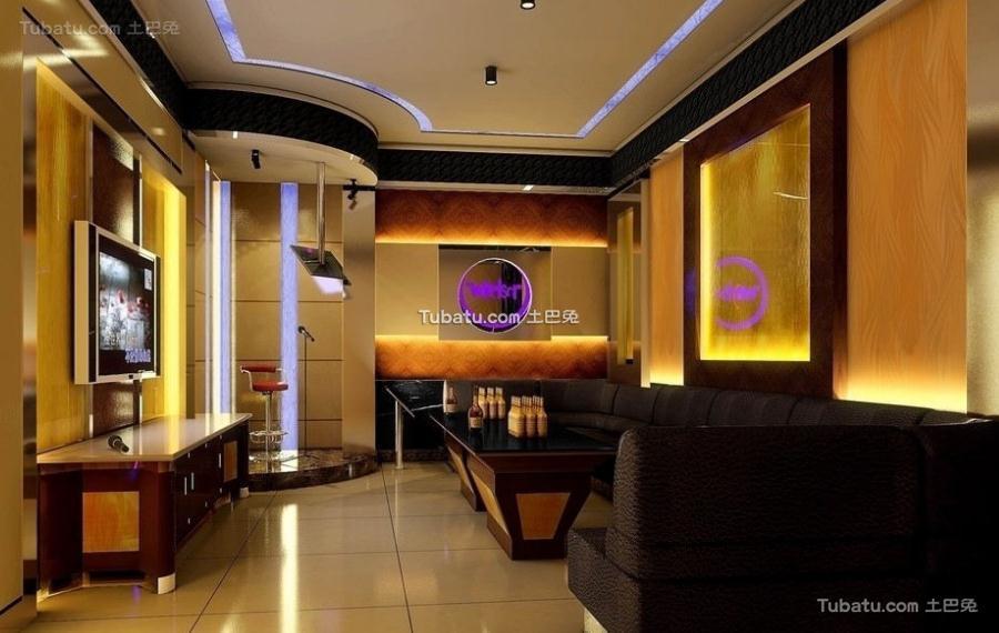 ktv设计房间室内装修效果图
