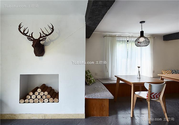 北欧风格餐厅装饰设计