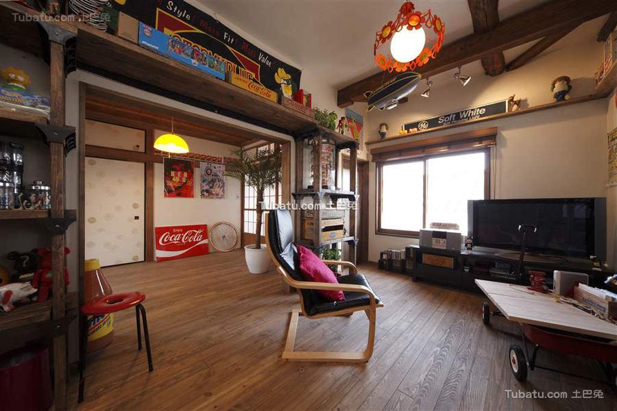 日式风格家居设计二居室效果图