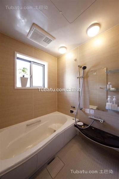 日式风格家居设计卫生间效果图