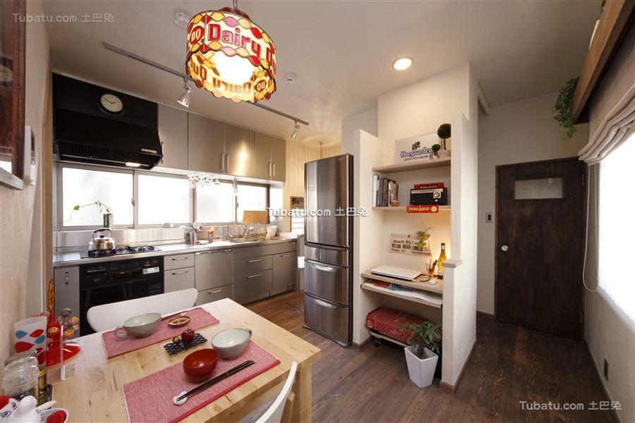 日式风格家居设计厨房效果图