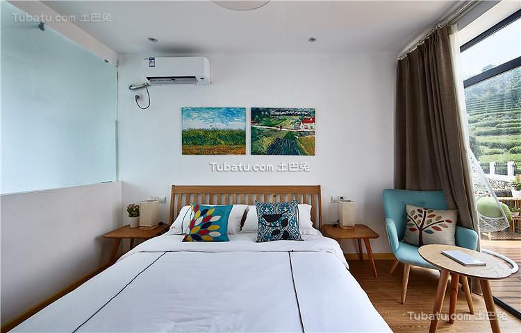 自然北欧卧室设计欣赏
